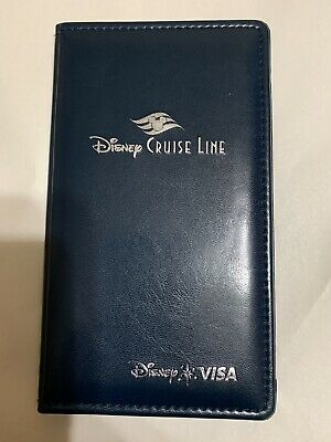 Disney Cruise Line Check Holder Credit Card Folder Bill Presenter Htf