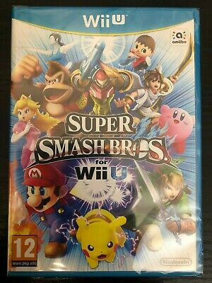 Wii U -  Super Smash Bros **New & Sealed** UK Stock