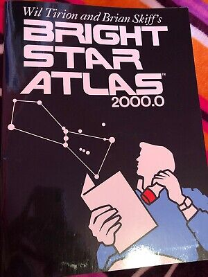 Bright Star Atlas (Bright Star Atlas by Wil Tirion and Brian Skiff (2001, Paperback) )