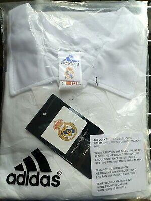 Camiseta oficial Real Madrid Centenario en su envoltorio original.