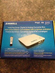 Convertisseur télé numérique -analogique zinwell.