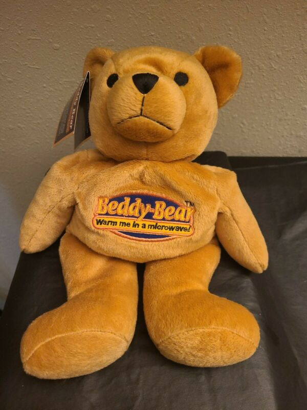 Intelex Beddy Bear Warm Me In A Microwave Plush Brown Bear Soothing Comforting