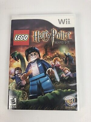 LEGO Harry Potter Game Years 5-7 (Nintendo Wii, 2011)