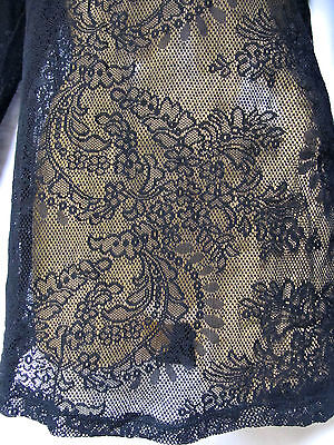 TS top TAKING SHAPE plus sz XXS / 12 Rumble Body Tee lacy sexy layering lace NWT 2