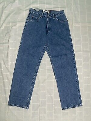 Mens Levis Jeans Relaxed Fit 550 29X30