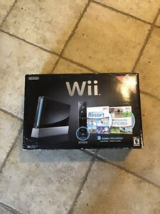 New Wii console.