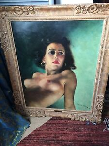 Original oil painting by Fried Pal