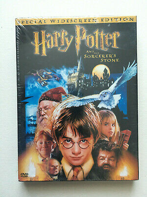 Harry Potter and the Sorcerers Stone (DVD, 2002, 2-Disc Set, Widescreen) NEW