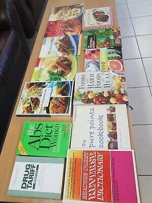 Used, Job Lot Mix Health And Food Medical Book for sale  Shipping to South Africa