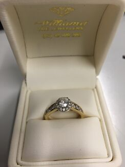 Diamond Engagement Ring The Hill Newcastle Area Preview