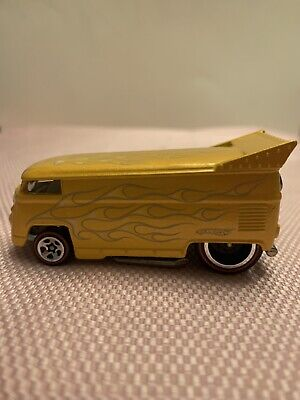 "Hot Wheels SINCE '68 COLLECTOR TOP 10 VW Drag Bus Loose REDLINES ""LQQK"""