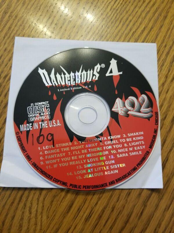 Dangerous Fire! Karaoke Disc Limited Edition Vol 4 CD+G