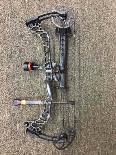 """Mathews Vertix Right Handed 60-70lbs 26-30.5"""" Bow Package Stone color 2"""