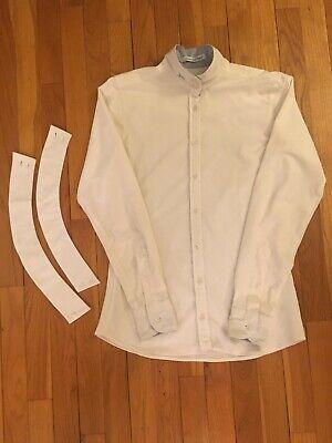 R.J ClassicsCool Prestige Collection Show Shirt, White, Women's 34 Prestige Collection Show Shirt