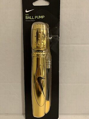 007 Nike Elite Dual-Action Sports Pump Gold Metallic