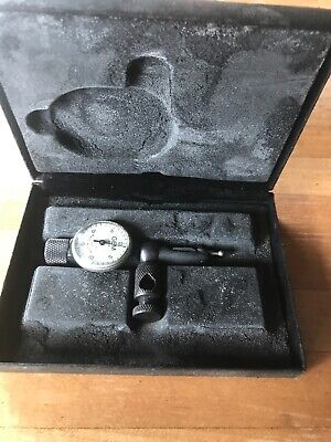 Gem Dial Indicator Gauge Gauge 222 001 Test Indicator Machinists Tool In Box Old