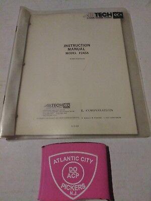 Ailtech Model F240a Instruction Manual