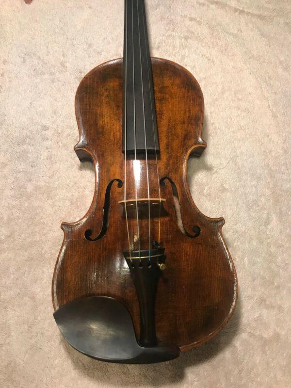 Old German Oskar Hermann Seidel Guanarius 1894 full size 4/4 advanced violin.