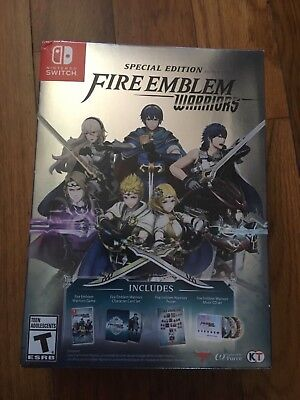 Fire Emblem Warriors Special Edition  Nintendo Switch  2017  Brand New