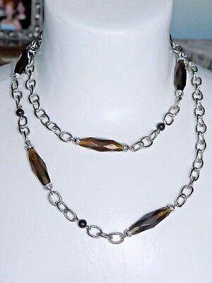 Amber Wave (Beautiful Lia Sophia AMBER WAVE Necklace, 36-39