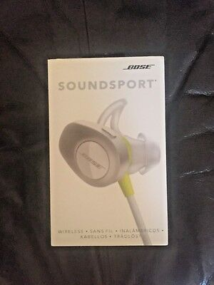 Bose SoundSport Bluetooth In-Ear Headphones (White)