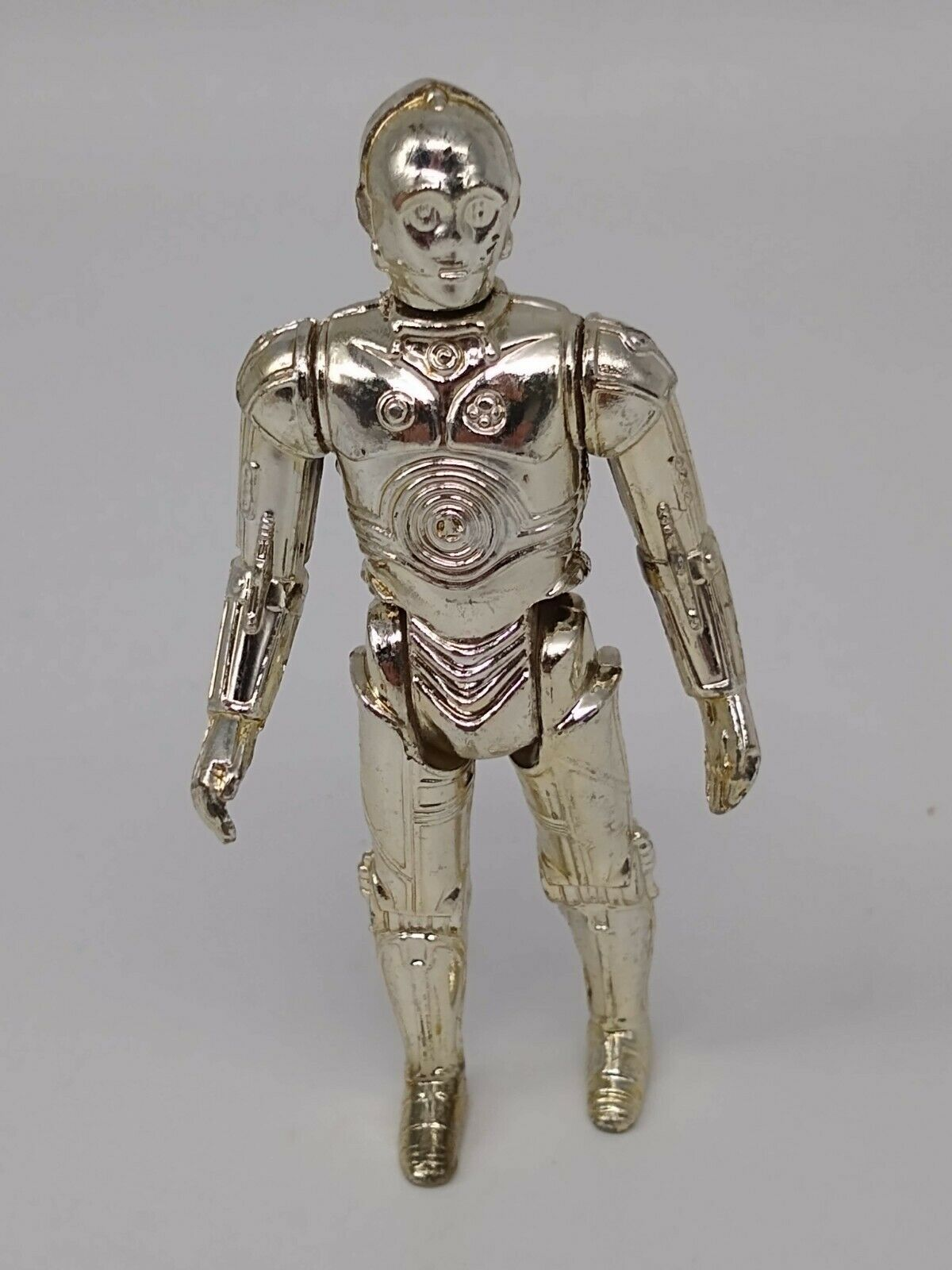 Vintage Star Wars Silver C3PO - Complete - Looks like Gold faded to Silver