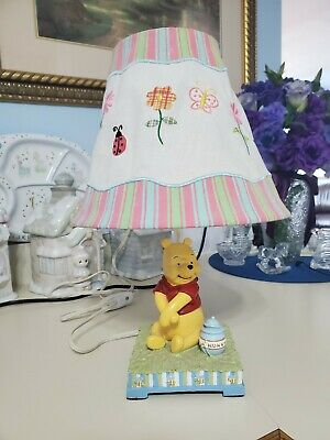 WINNIE THE POOH & Honey Pot Table Lamp with shade Works