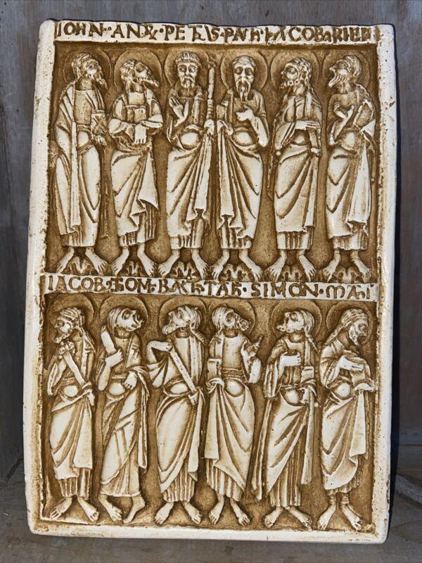 Twelve Disciples Plaque Facsimiles,ltd Nashua, New Hampshire