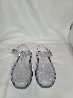 Mini Melissa Clear Jelly Sandals Size 11