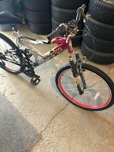Kids mongoose mountain bike