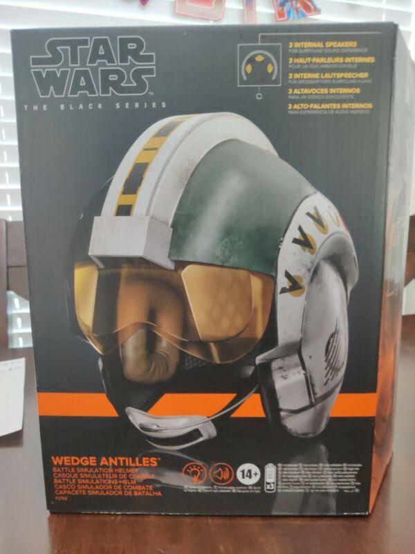 Star Wars Black Series Wedge Antilles Electronic Helmet Replica - IN STOCK!