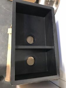 730x440mm Black stone sink display model only Arncliffe Rockdale Area Preview