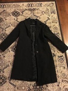 Wool and cashmere winter coat -size small