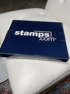New Stamps.com 5 Lb Pound Stainless Steel Digital Postal Scale Usb Connection
