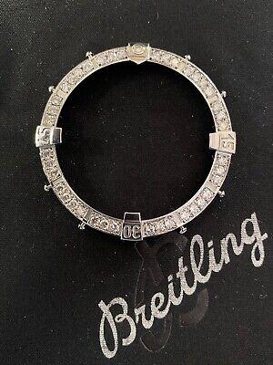 Breitling A13370 Super Avenger Bezel with 2.00 ctw Carat Natural Diamonds