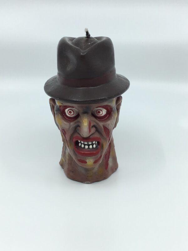 vintage halloween Freddy Krueger Candle