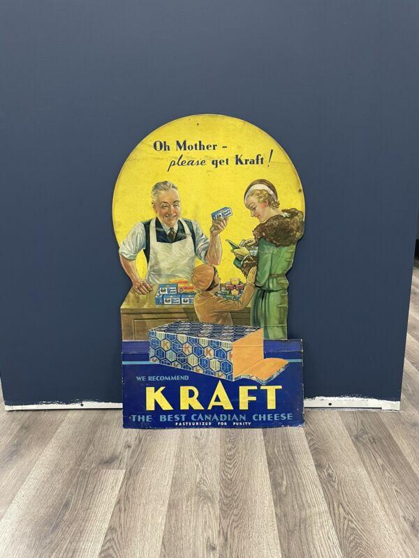 Vintage Kraft Cardboard Sign