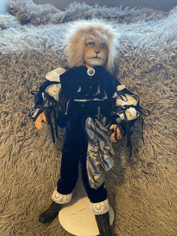 "OOAK Kerin Houseburg Vintage Doll Beast Prince. 24"" Tall Vincent"