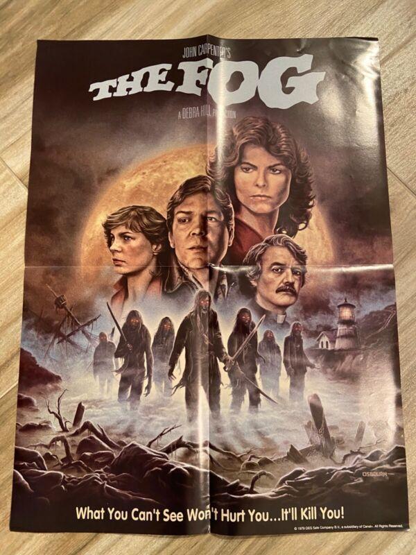 "John Carpenter's The Fog Film Poster New 24"" tall x 18"" wide"