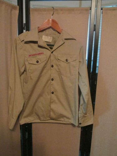Boy Scouts of America  BSA Long Sleeve  Shirt Youth