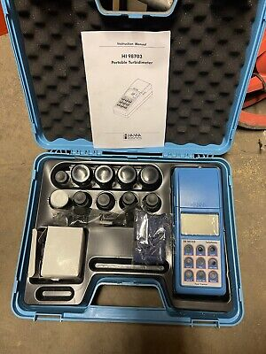Hanna Instruments Hi 98703-01 Used Once Turbidity Meter Portable Turbidimeter