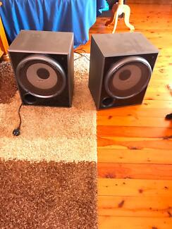 2 Sony subwoofers