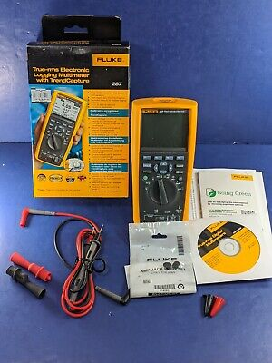 Brand New Fluke 287 Electronics Logging Multimeter Original Box