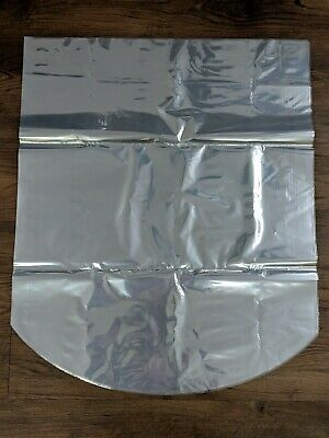 16x18 100 Gauge Crystal Clear Dome Shrink Wrap Bags For Gift Baskets 10 Pack