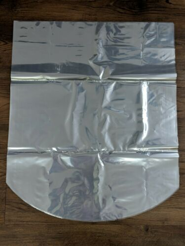 "24""x30"" 100 Gauge Crystal Clear Dome Shrink Wrap Bags for Gi"