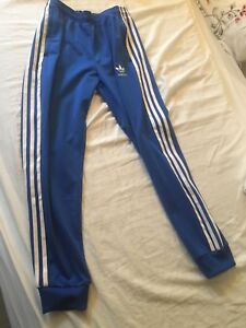 Adidas Pants for Women (Bright Blue)