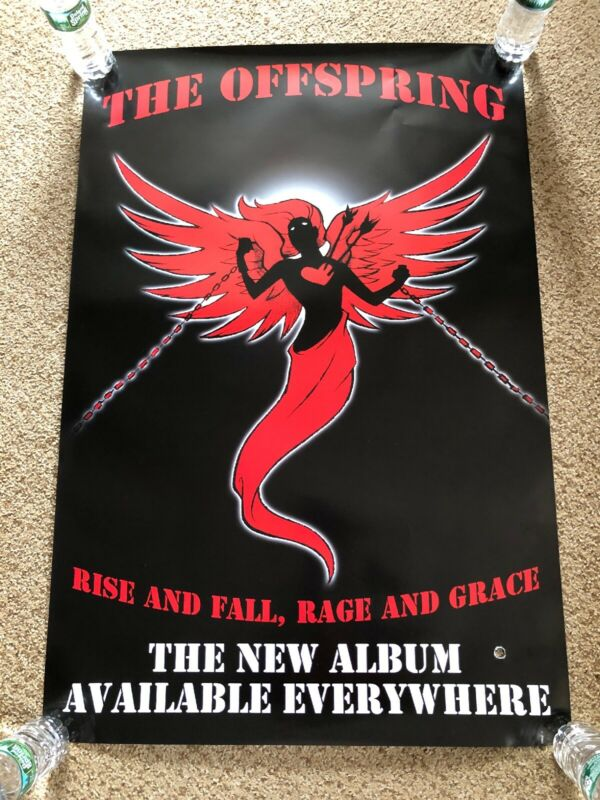 THE OFFSPRING Rise & Fall, Rage & Grace Original Album Promo Poster 2x3' RARE