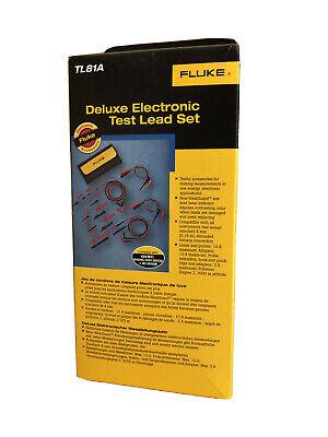 Fluke Deluxe Electronic Test Lead Set
