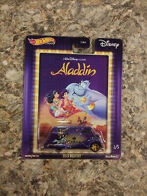 Deco Delivery Aladdin 2020 Hot Wheels Pop Culture Disney BRAND NEW ON CARD