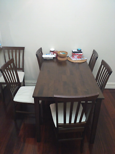 dining table and chairs in sydney region nsw home garden
